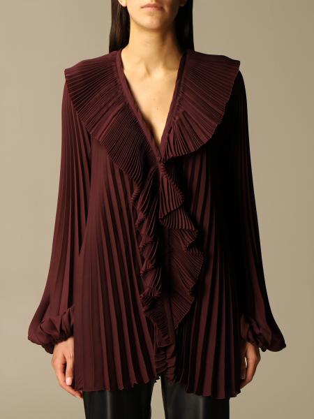 Brognano: Brognano pleated shirt