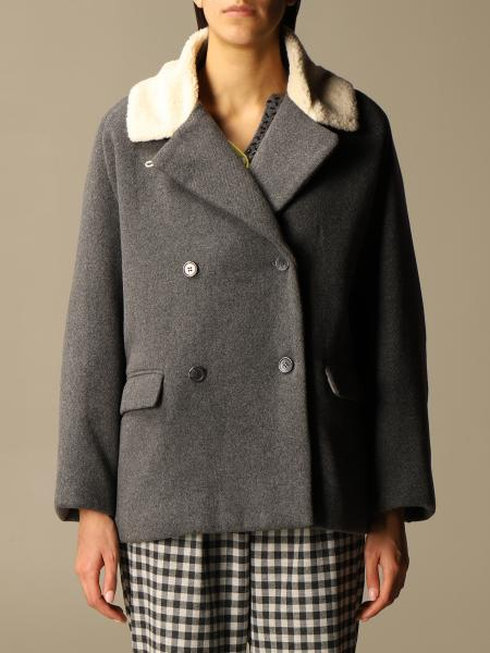 Semicouture: Short double-breasted Semicouture coat