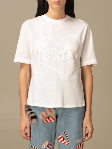 Fendi: T-shirt women Fendi
