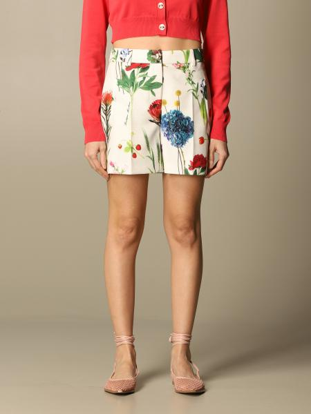 Boutique Moschino: Boutique Moschino shorts with floral pattern