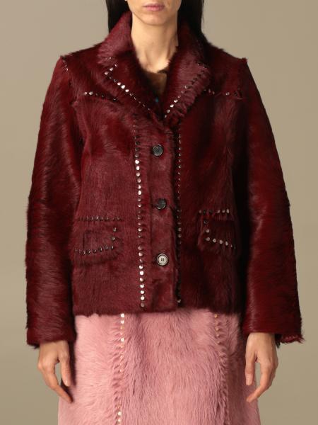Abrigos de piel real mujer Prada