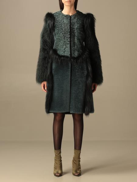 Coat women Alberta Ferretti