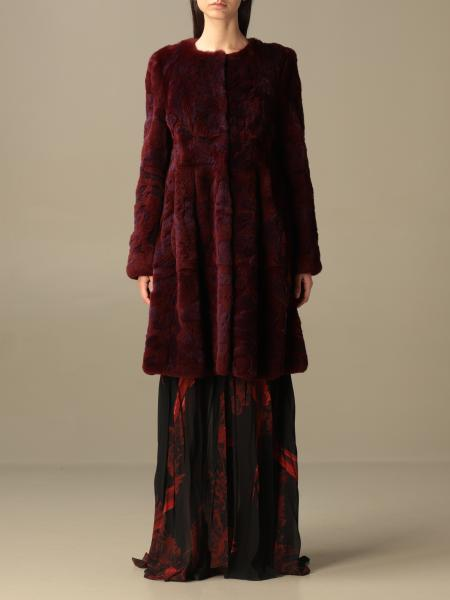 Abrigos de piel real mujer Alberta Ferretti