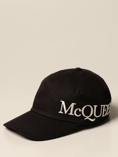 Alexander McQueen baseball cap with logo