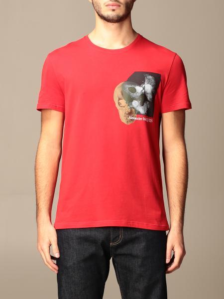 T-shirt men Alexander Mcqueen