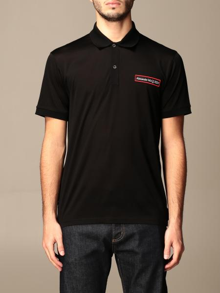 Polo shirt men Alexander Mcqueen