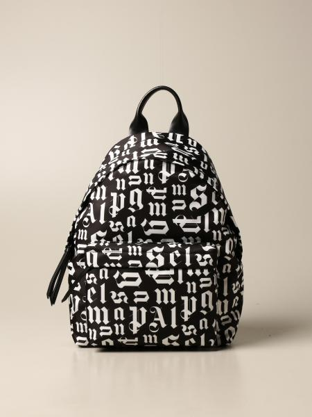 Palm Angels: Palm Angels backpack in logoed canvas