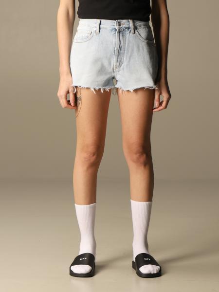 Shorts damen Off White