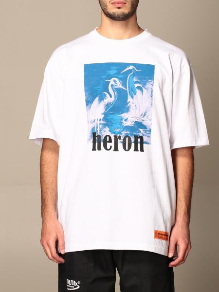 Heron Preston: T-shirt Heron Preston in cotone con stampa