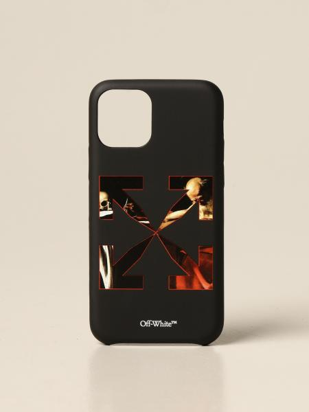 Off White men: Caravaggio Iphone 11 pro Off White cover with print