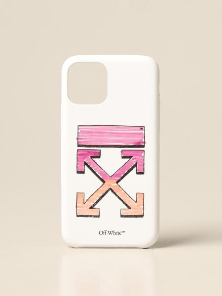 Off White men: Off White Marker Iphone 11 cover with print