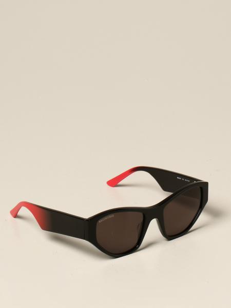 Balenciaga sunglasses in acetate with all over logo