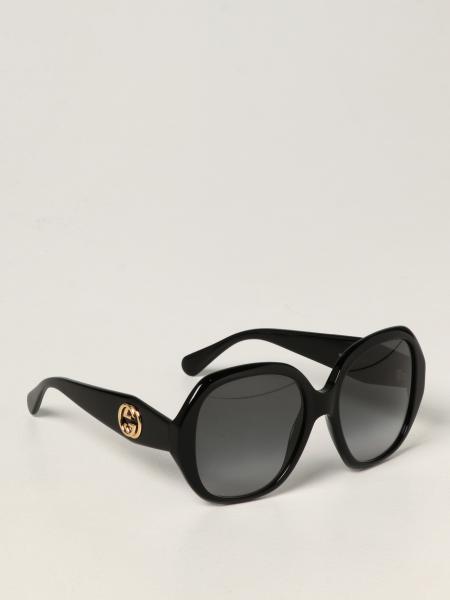 Gucci: Occhiali da sole Gucci in acetato con logo GG