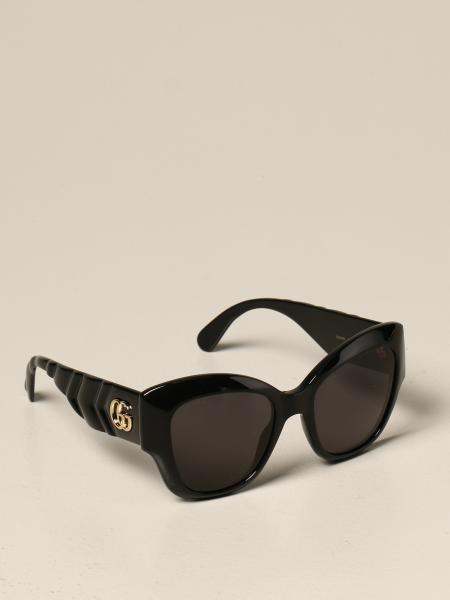 Occhiali da sole Gucci in acetato con logo GG