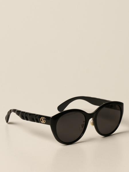 Gucci women: Gucci sunglasses in acetate with GG logo