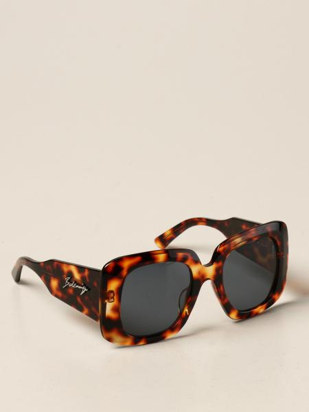 Balenciaga sunglasses in acetate with logo