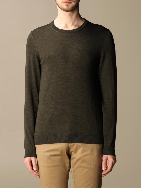 Hugo Boss: Boss crewneck sweater in wool