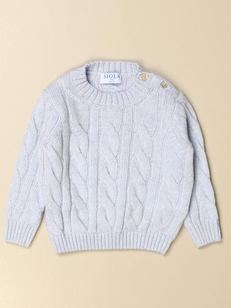 Siola braided crewneck sweater