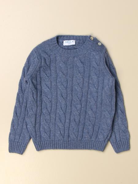 Siola braided crewneck sweater