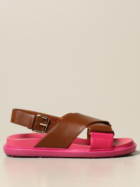Marni: Flache sandalen damen Marni