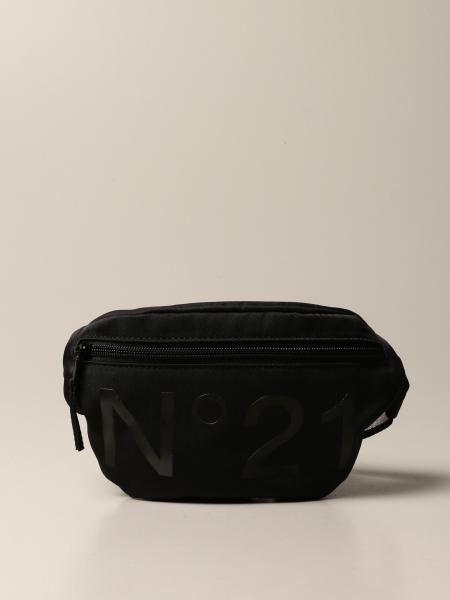 N ° 21 nylon pouch with logo