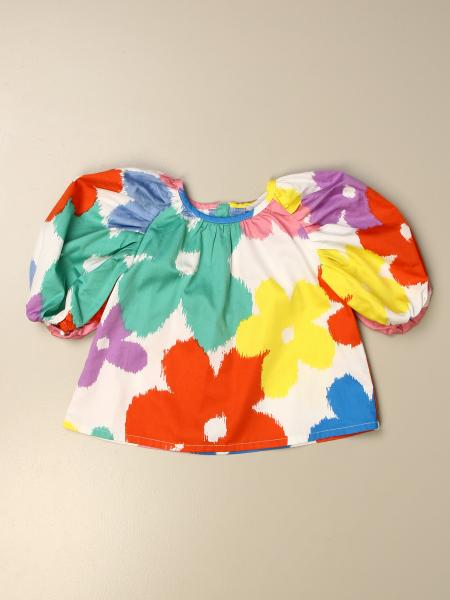 Stella McCartney floral patterned crop top