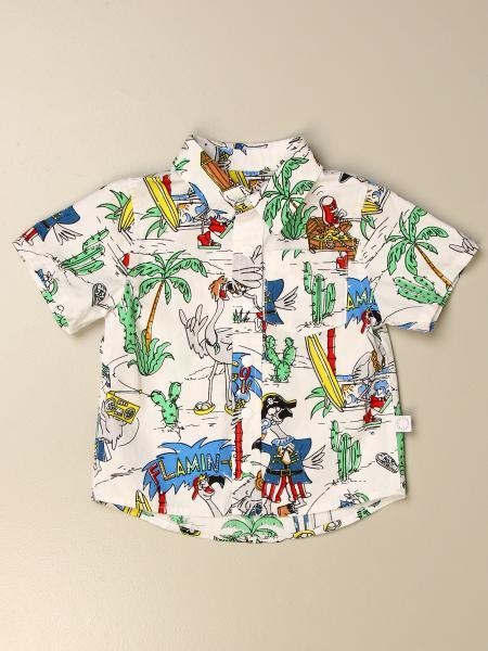 Stella Mccartney kids: Stella McCartney shirt with all-over fanicopters