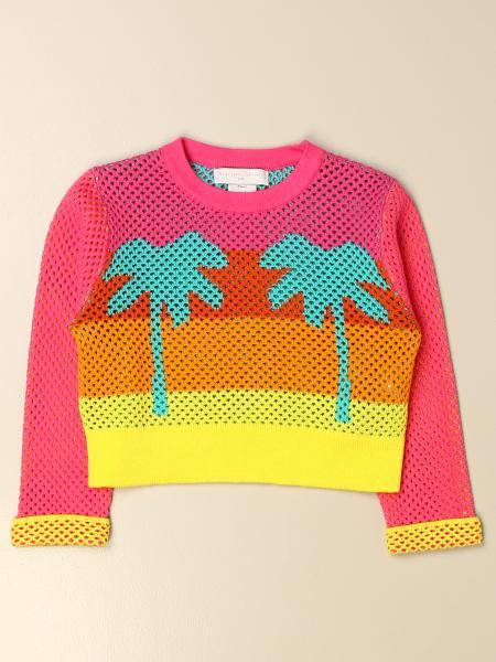 Stella McCartney crew neck sweater with palm trees