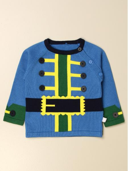 Stella McCartney crewneck sweater with jacket effect