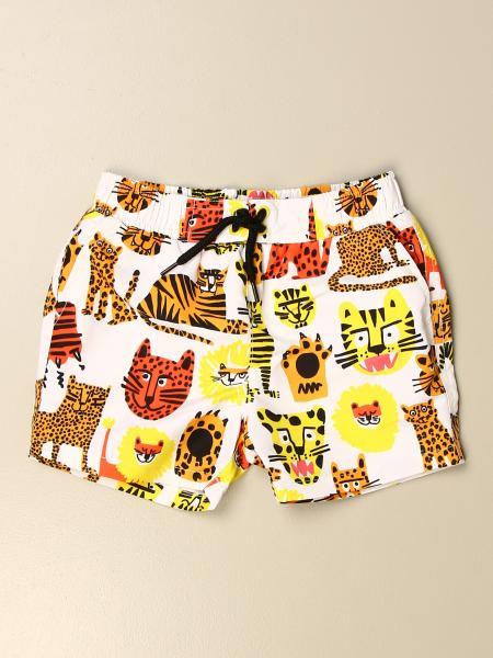 Stella Mccartney kids: Stella McCartney boxer costume with animal pattern