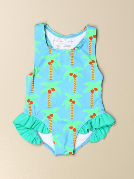 Stella McCartney one-piece swimsuit with all-over palm trees