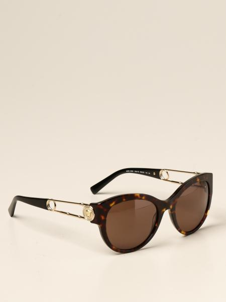 Versace sunglasses in acetate and metal