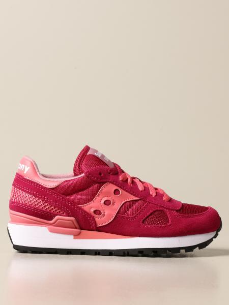 Saucony: Sneakers Saucony in camoscio sintetico e micro rete