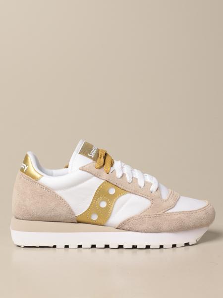 Sneakers Saucony in camoscio sintetico e nylon