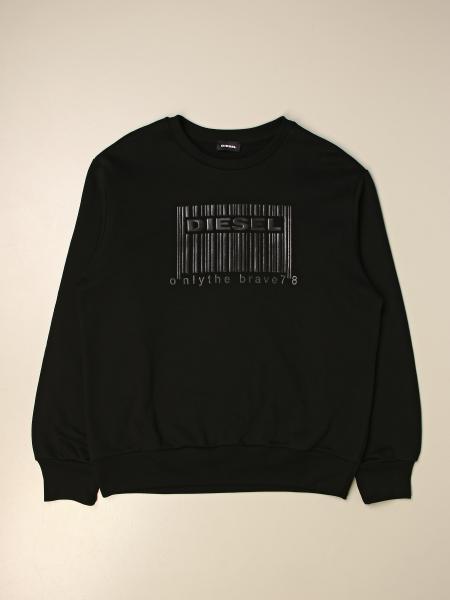 Diesel kids: Diesel crewneck sweatshirt in cotton with logo