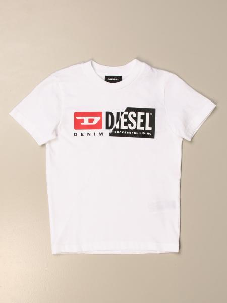 T-shirt Diesel in cotone con logo