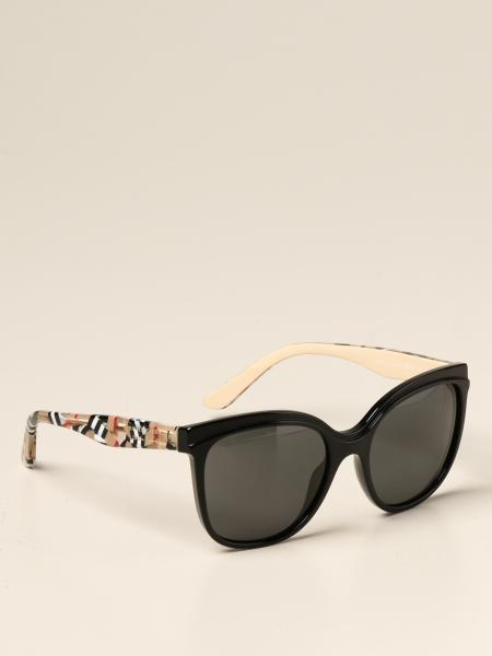 Occhiali da sole Burberry in acetato check