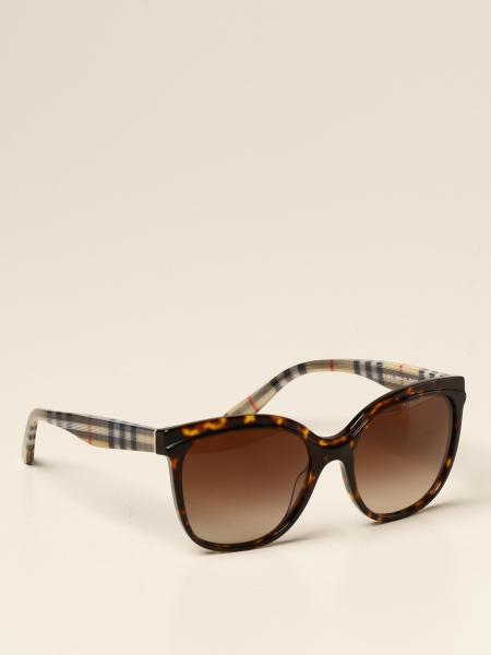 Burberry sunglasses in check acetate