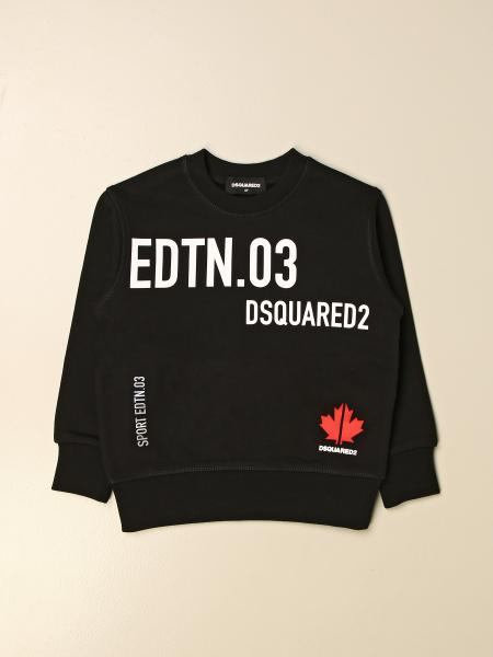 Dsquared2 Junior kids: Dsquared2 Junior crewneck sweatshirt in cotton with big prints