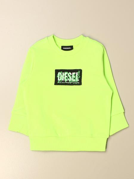 Diesel crewneck sweatshirt in cotton with logo