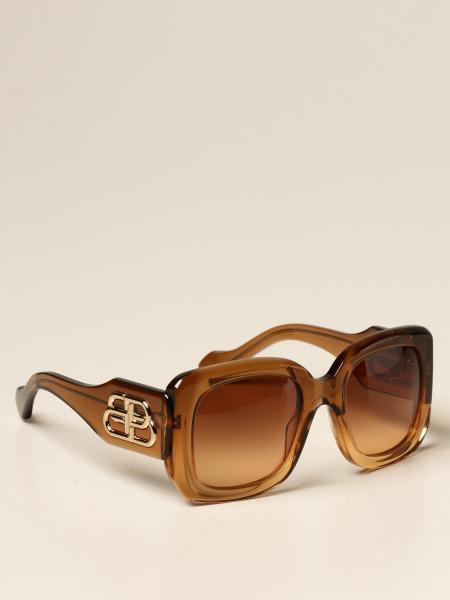 Balenciaga sunglasses in tortoiseshell acetate
