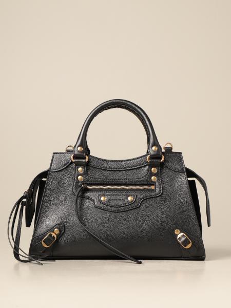 Balenciaga women: Neo classic city S Balenciaga bag in grained leather
