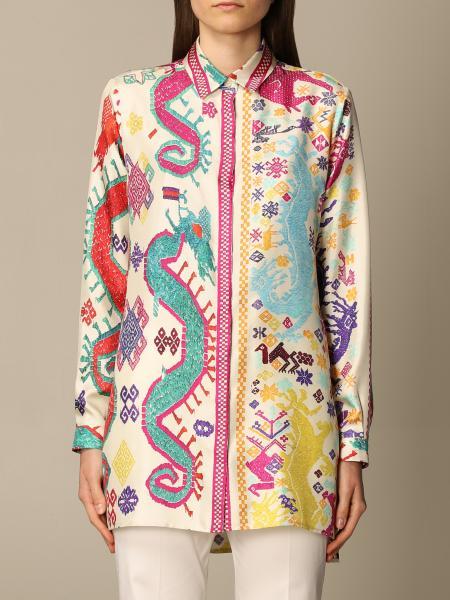 Etro women: Etro patterned shirt