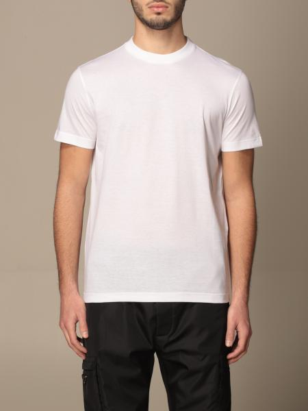 Prada uomo: Set 3 t-shirts Prada basic in cotone