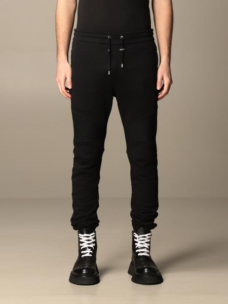 Balmain cotton jogging trousers