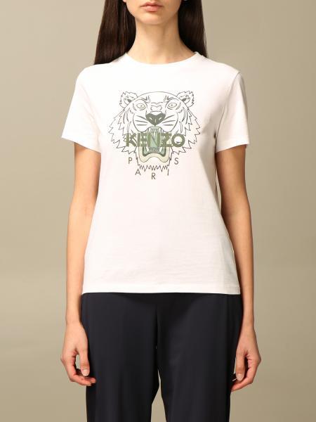 Kenzo cotton T-shirt with Tiger Kenzo Paris logo