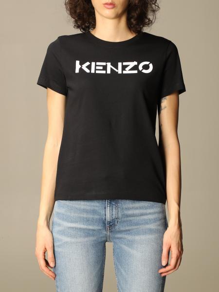 Kenzo donna: T-shirt Kenzo in cotone con logo