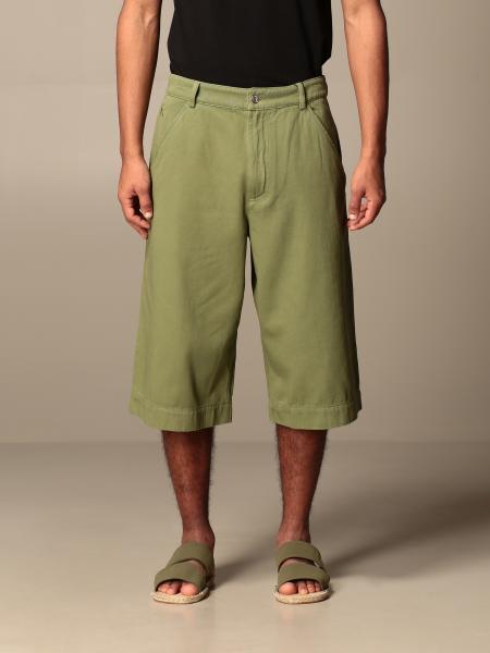 Wide Kenzo Bermuda shorts with America pockets