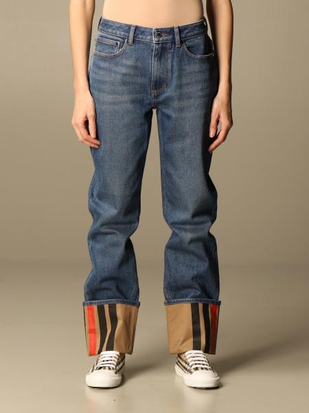 Burberry femme: Jeans femme Burberry