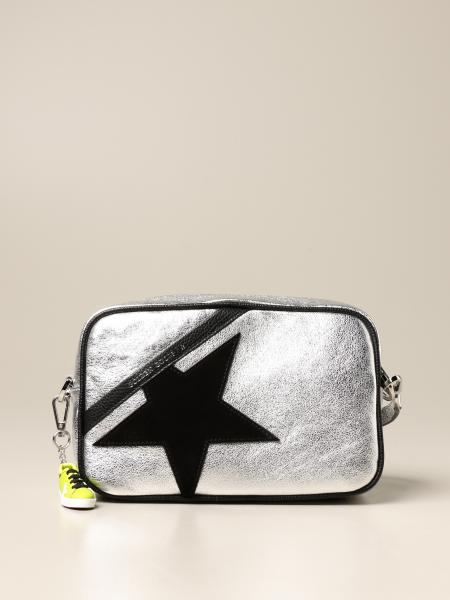 Star Golden Goose bag in laminated leather